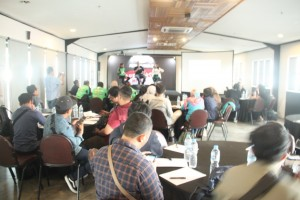Press conference Rebranding Gojek